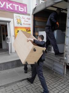Выгрузка холодильного оборудования